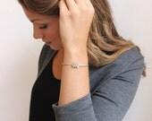 Spoon Cuff  Bracelet // Sterling Silver // Spoon Pendant