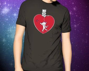 """Emo Cat """"The Friendzone""""  T-Shirt"""