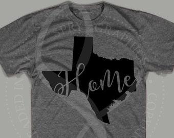 Texas State Script Home T