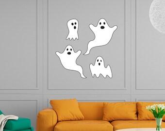 Ghosts Halloween Wall Sticker