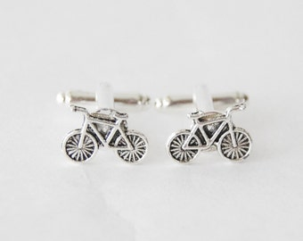Bike Cufflinks, Bicycle Cufflinks, Cyclist Cufflinks, Bike Gifts, Cyclist Gifts, Vintage Bike Cufflinks, Biking Cufflinks, Men Biking Gifts