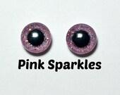 Eyechips 13 mm - Coloris Pink Sparkles Taille Pullip Modèles Récents