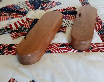 """11.5"""" Large Redwood Clapper (Reclaimed wood)"""
