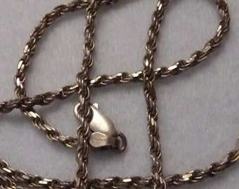 Chain. Sterling Silver. Finland. Vintage.