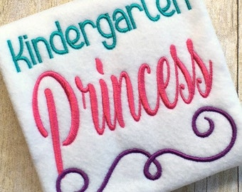 Back to School Embroidery Design - School Embroidery Design - Kindergarten Embroidery Design - Embroidery Saying - Embroidery Design