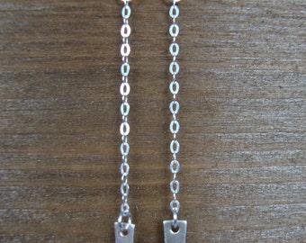 Sterling Silver Spike Earrings - Sterling Silver Earrings - Edgy Earrings - Minimalist Jewelry - Silver Statement Earrings - Spike Earrings