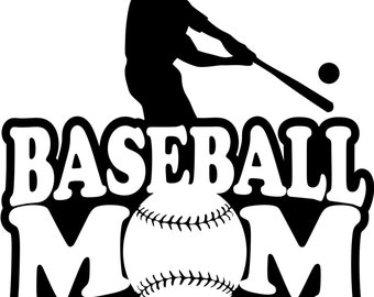 Baseball Mom Sweatshirt/ Baseball Mom Hoodie/ Baseball Mom Shirts/ Baseball Gift/ Sports Mom Shirt