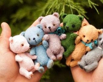 Mini bears(is possible repeat to order),Teddy Bear Stuffed Animal Bear Soft Toys Artist Teddy Bears
