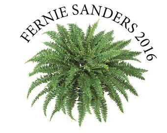 Fernie Sanders Sticker