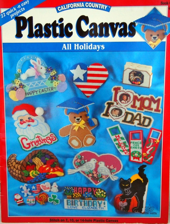 Plastic Canvas All Holidays By California Country 22 Projects