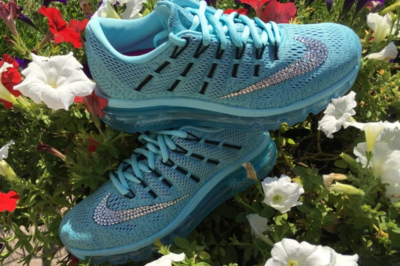 Women s nike air max 2016 bling shoes customized with swarovski