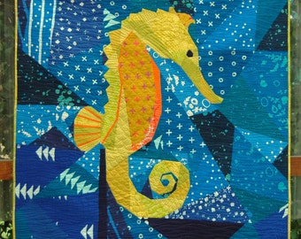 Treasure of the Sea- A Foundation Paper Pieced Pattern
