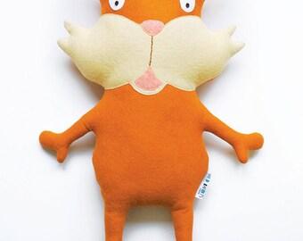 Wild Bandits - Cedric the Cat Plush Felt Toy