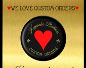 """2 1/4"""" Custom Buttons, Pins, Clothing Magnets, Refrigerator Magnets, Key Chains, Pocket Mirrors,  Weddings, Showers, Party Favors"""