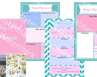 Blog Post Planner/Organiser