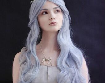 Silver Branch Tiara - Moonlit Forest, Elven circlet, Celtic crown, Fantasy bridal set, Enchanted Mermaid headpiece, woodland crown,LotR tiar