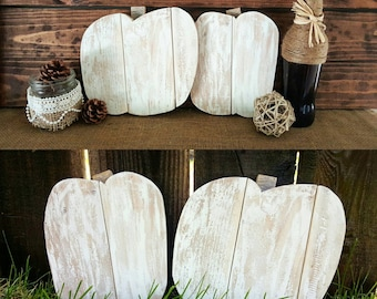 Pallet Pumpkins - Fall Decor - Wood Pumpkins