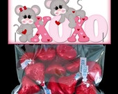 Valentine Treat Bag Topper XOXO Easy Digital Download