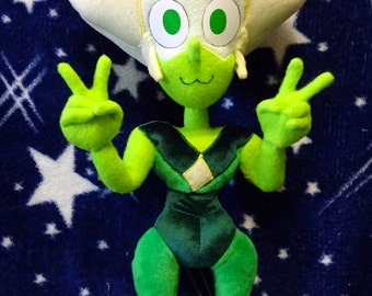 Steven Universe inspired 55 cm high Peridot full poseable art doll plushie (CUSTOMIZATIONS OK! read description please!) made-to-order