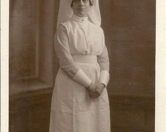 British WW1 photo, Military Hospital, nurse, first world war, uniform, eccentric, 'Ooh Matron!' Social History
