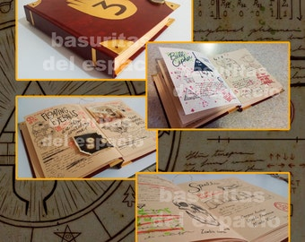 Gravity Falls: Journal 3 replica
