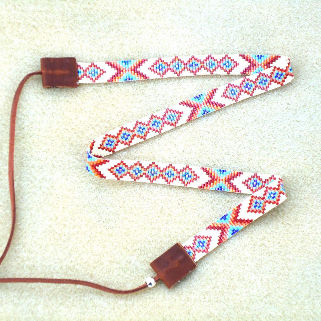 beaded hat band accessories western hat band by