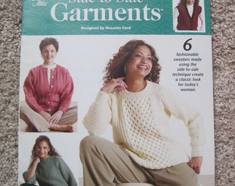 Knit Book - Side-to-Side Garments - Annies Attic #873294