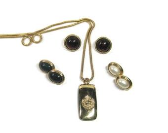 Destash Lot of Vintage Liz Claiborne Jewelry Earrings and Necklace