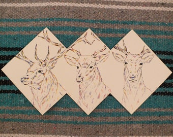 ScreenPrinted Deer