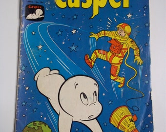 Harvey Comics Casper The Friendly Ghost # 104 April 1967 Vintage Comic Book VG-