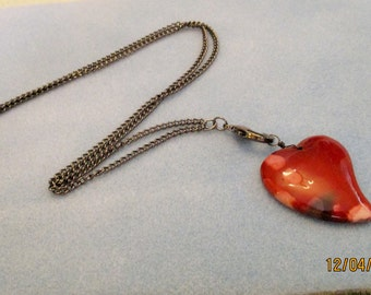 Red Jasper Lanyard with Detachable Pendant