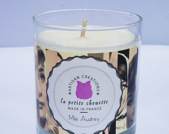 Candle scent Coco Mademoiselle by Chanel, 200g, 100% soy wax natural, burning about 40 h. Femine, chic and a bit vintage.