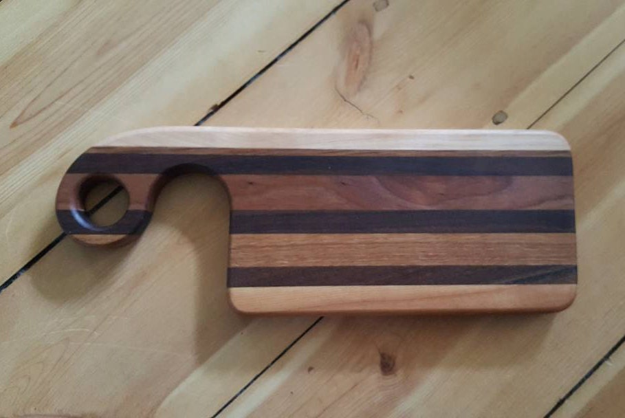 Small Cutting Board With Handle Wood Cutting Boards