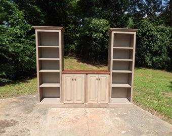 Handcrafted Rustic Entertainment Center! Great Media Console and Storage for Your TV!