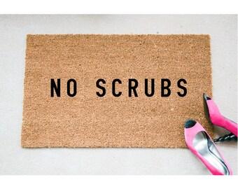 No Doormat - Funny Doormat - Welcome Mat - Funny Rug - Reminder Rug - Sassy Doormat - Sassy Doormat - Unique Doormat - Rude Doormat