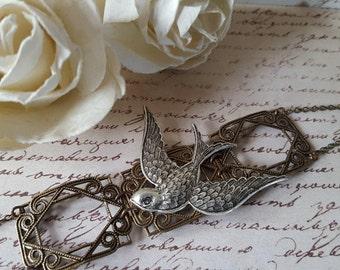 Deco Style Bird Bracelet
