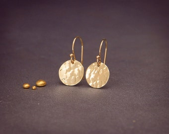 """Solid 14K Gold Earrings 