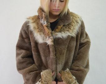 Sheared beaver coat | Etsy