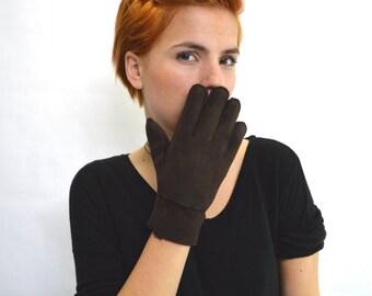 Real fur gloves,shearling gloves, mouton fur, his and hers, fur mittens, shearling fur mittens, shearling gloves, fur gloves.