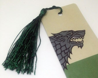 House Stark: Game of Thrones bookmark