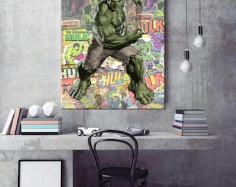 Marvel Avengers The Hulk Canvas Print