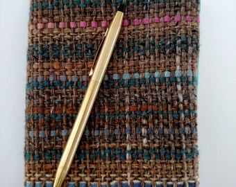 Woven Sketch Book Cover & Sketch Book - Oasis. #15C15