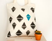 SALE cotton tote bag