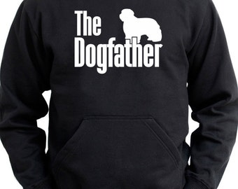 The dogfather Bearded Collie Hoodie
