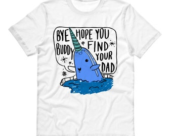 Mr. Narwhal Shirt, Elf Movie Shirt, Christmas Shirt, Buddy The Elf, Holiday Shirt