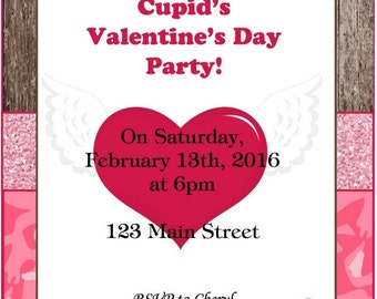 Cupid's Party Invitation