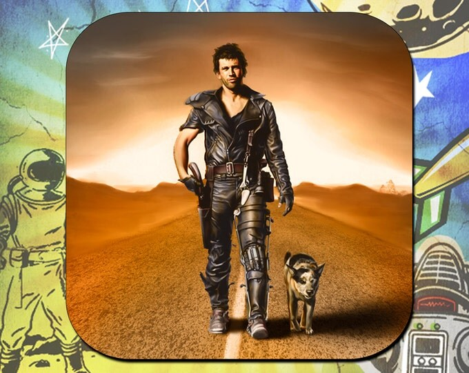 Mad Max Mel Gibson Road Warrior Coaster Set