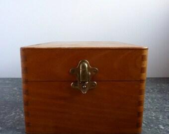vintage french rectangular box