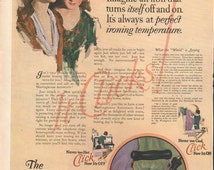 Ladies Home Journal 1925 ad for Westinghouse Iron - PD000758