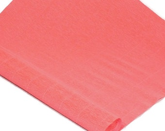 "Italian Crepe Paper - Salmon - 19"" x 98"" Roll"